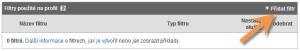 Přidání filtru do internetových statistik Google Analytics