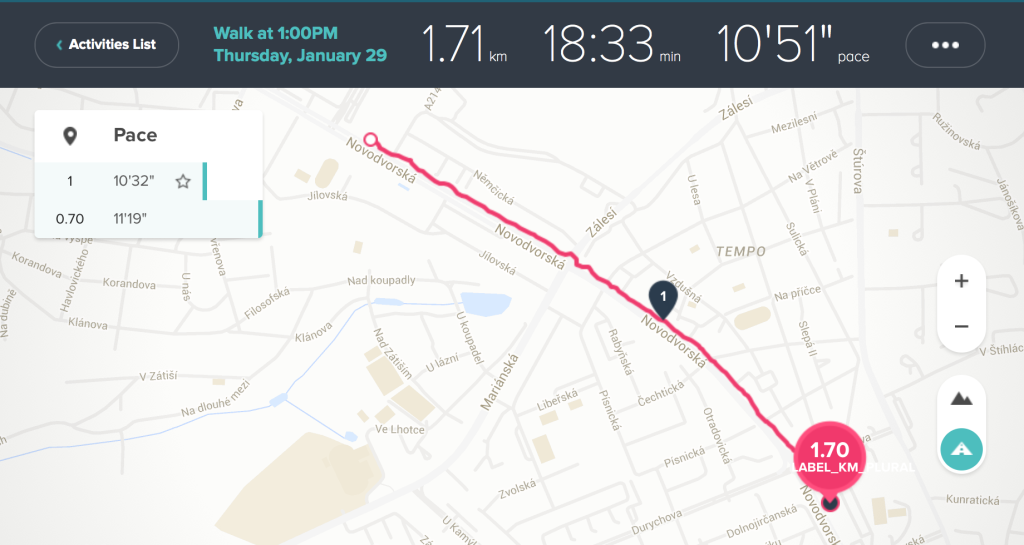 Fitbit Charge HR test GPS
